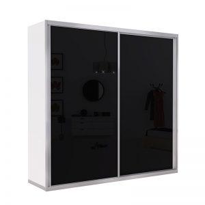 ארון הזזה לוז 2 דלתות רדווד